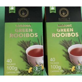 コストコ(コストコ)のオーガニックグリーンルイボスティー 2箱 80包(茶)