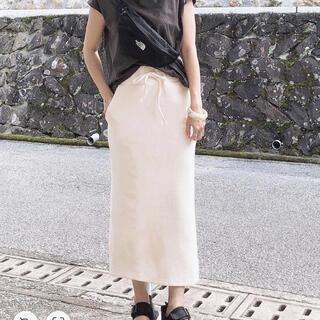 グレイル(GRL)のGRL ワッフルタイトスカート(ひざ丈スカート)