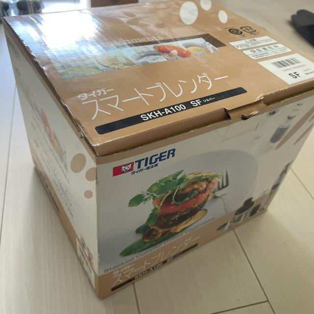 TIGER(タイガー)の【中古美品】TIGER スマートブレンダー SKH-A100 スマホ/家電/カメラの調理家電(調理機器)の商品写真