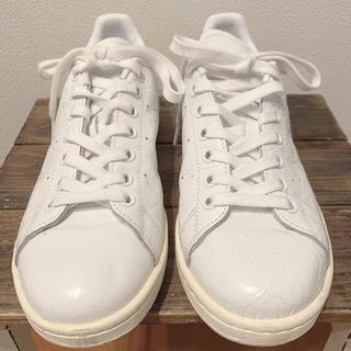 アディダス(adidas)の【adidas】レア!スタンスミス ホワイト US6.5 23.5cm(スニーカー)