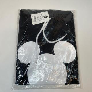 ディズニー(Disney)のディズニーミッキー半袖パーカーL⭐︎新品未使用①(16090719)(パーカー)