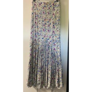 デュラス(DURAS)のDURAS マキシスカート 花柄(ロングスカート)