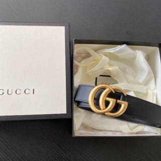 グッチ(Gucci)のGUCCI GGレザーベルト(ベルト)