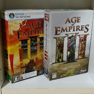 マイクロソフト(Microsoft)のむらふみ様 専用  AGE of EMPIRES  2点(PCゲームソフト)