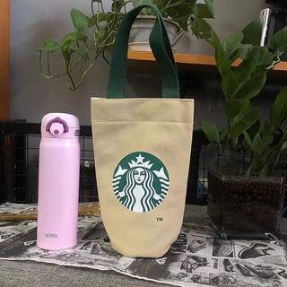 Starbucks Coffee - 【スターバックス海外限定】日本未発売 ドリンクバック トートバック ベージュ一点