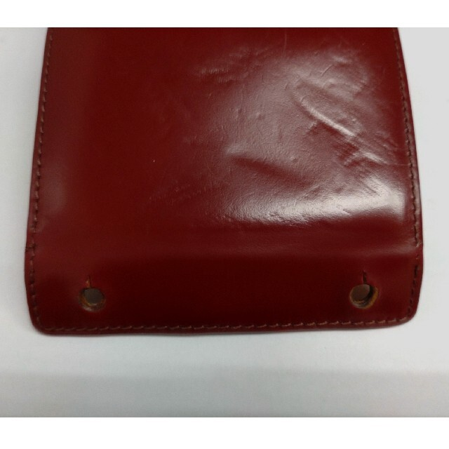 m+(エムピウ)の【コードバン】エムピウ ミッレフォッリエ メンズのファッション小物(コインケース/小銭入れ)の商品写真