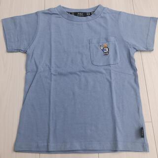 しまむら - ポロベア サーフィン ブルー トップス Tシャツ   120