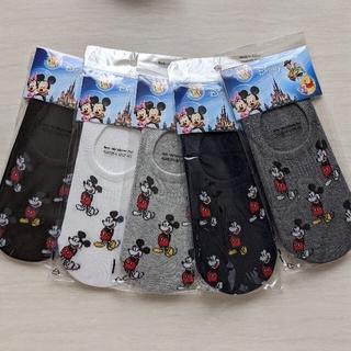 ディズニー(Disney)のmickeyフットカバー5足セット(ソックス)
