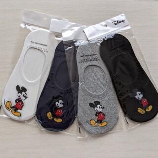 Disney - mickeyフットカバー4足セット