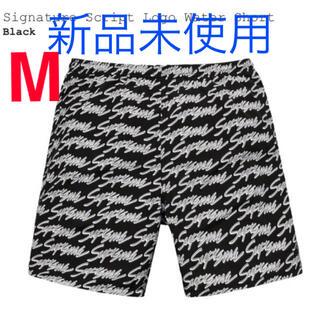 Supreme - 【Mサイズ送料込】Signature Script Water Short