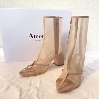 Ameri VINTAGE - 連休セール!AmeriVINTAGE サンダルライクブーツ