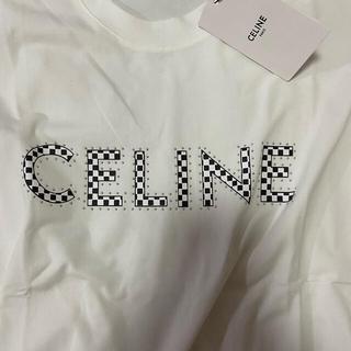 セリーヌ(celine)のセリーヌスタッズ付きTシャツ(Tシャツ/カットソー(半袖/袖なし))
