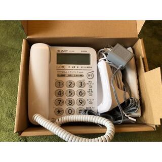 シャープ(SHARP)のsharp シャープ JD-G32CL 電話機(子機付)新品同様!(その他)