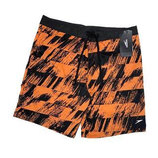 スピード(SPEEDO)の新品 Mサイズ スピード ウォーターショーツ 水泳 水着 オレンジ 海パン(水着)