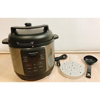 パナソニック(Panasonic)の✨超美品✨Panasonic SR MP300 圧力鍋 黒(調理機器)