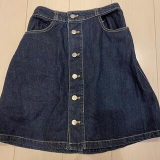 オリーブデオリーブ(OLIVEdesOLIVE)のデニムスカート(ひざ丈スカート)
