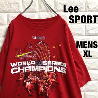 リー(Lee)のリー スポーツ MLB  カージナルス チャンピオン Tシャツ メンズXL(Tシャツ/カットソー(半袖/袖なし))