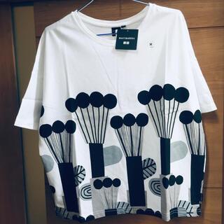マリメッコ(marimekko)のmarimekko UNIQLO Tシャツ 新品未使用 タグ付き Mサイズ(Tシャツ(半袖/袖なし))