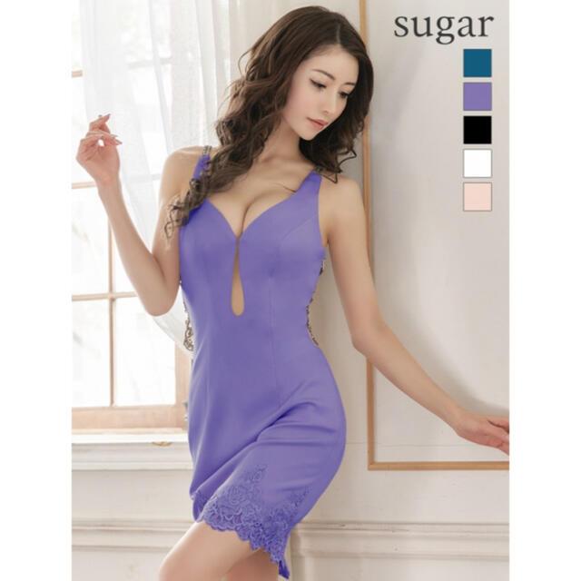 AngelR(エンジェルアール)のエンジェルアール ビジューミニドレス パープル レディースのフォーマル/ドレス(ミニドレス)の商品写真