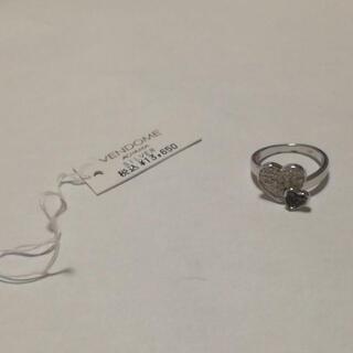 プラスヴァンドーム(Plus Vendome)の33 ヴァンドーム sv925 シルバー リング 8.5号 ハート(リング(指輪))