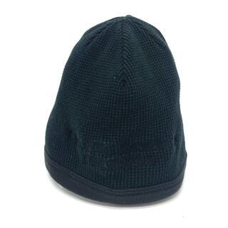 クロムハーツ(Chrome Hearts)のクロムハーツ ビーニー サマーキャップ ニットキャップ ニット帽 ブラック(ニット帽/ビーニー)