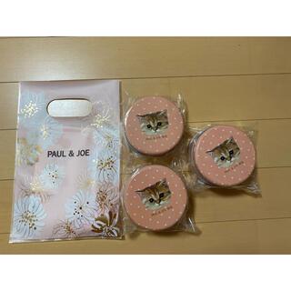 ユニクロ(UNIQLO)のユニクロ ポール&ジョー ノベルティ 猫 ラムネ缶 ピンク(ノベルティグッズ)