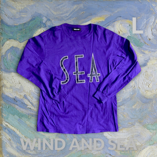 STUDIOUS - wind and sea tシャツ  パープル