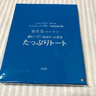 シセイドウ(SHISEIDO (資生堂))の大人のおしゃれ手帖7月号、資生堂パーラーたっぷりトート(トートバッグ)