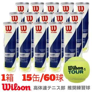 wilson - 【新品】Wilson ウイルソン ツアー・スタンダード 1箱60球