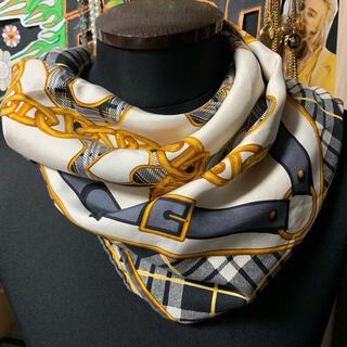 グッチ(Gucci)のgucci 大判スカーフ シルクスカーフ(バンダナ/スカーフ)