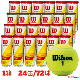 ウィルソン(wilson)の【新品】Wilson チャンピオンシップエクストラデューティー  1箱72球(ボール)