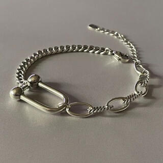 マルタンマルジェラ(Maison Martin Margiela)のMix chain bracelet No.552(ブレスレット/バングル)