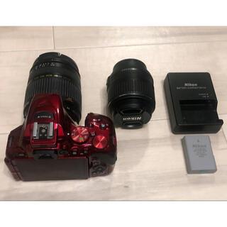 Nikon - レンズ2個付 d5500