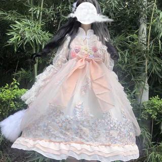 2021夏最新華ロリー 和ロリー ビンテージドレスアップM(衣装一式)