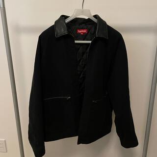 シュプリーム(Supreme)のsupreme leather collar work jacket(その他)