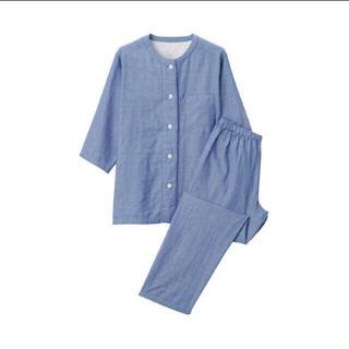 ムジルシリョウヒン(MUJI (無印良品))の脇に縫い目のない 薄手ガーゼ七分袖パジャマ  (パジャマ)