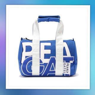 パーリーゲイツ(PEARLY GATES)のパーリーゲイツ☆ OUT ロゴ カート バッグ☆新品☆ブルー(バッグ)
