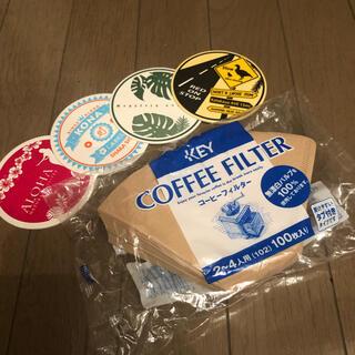 キーコーヒー(KEY COFFEE)のKEY COFFEEフィルター(コーヒー)