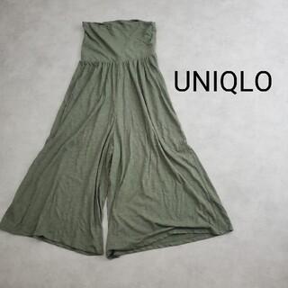 ユニクロ(UNIQLO)のUNIQLO ユニクロ マタニティ ワイドパンツ ガウチョパンツ(マタニティウェア)