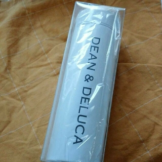 ディーンアンドデルーカ(DEAN & DELUCA)のDEAN & DELUCA ステンレスボトル(白)(水筒)