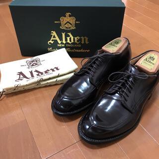 オールデン(Alden)の着用2回のみ!希少 極美品 オールデン 54321 6.5D(ドレス/ビジネス)