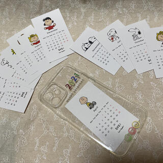 スヌーピー(SNOOPY)のスヌーピー iPhone12ケース(iPhoneケース)