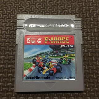 ゲームボーイ(ゲームボーイ)のG20 ゲームボーイソフト F1レース(家庭用ゲームソフト)