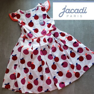 Jacadi - Jacadi りんご柄 ワンピース 🍎 6A