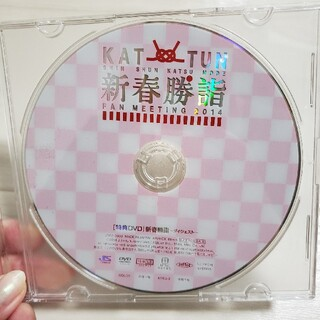 カトゥーン(KAT-TUN)のKAT-TUN 新春勝詣 FAN MEETING 2014 DVD(アイドルグッズ)