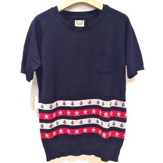 ロンハーマン(Ron Herman)のSUNNY SPORTS🇯🇵日本製  【C.E.L.STOR 】半袖ニット(Tシャツ/カットソー(半袖/袖なし))