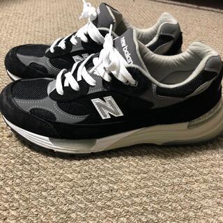 ニューバランス(New Balance)のNEW BALANCE M992EB BLACK/GREY 26.0cm(スニーカー)