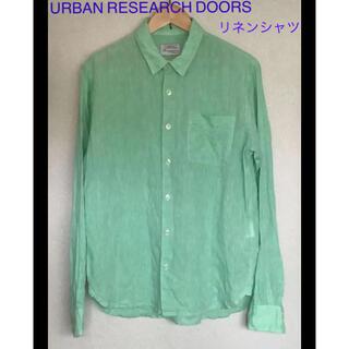 ドアーズ(DOORS / URBAN RESEARCH)のURBAN RESEARCH DOORS リネンシャツ(シャツ)