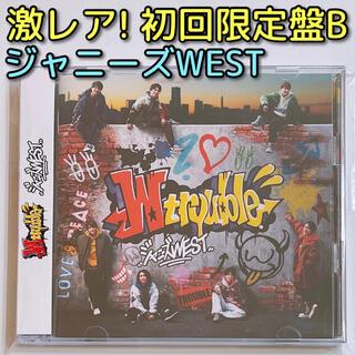 ジャニーズWEST - ジャニーズ WEST W trouble 初回限定盤B CD DVD 美品!
