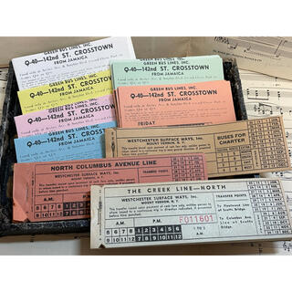 ヴィンテージチケット 色々(印刷物)